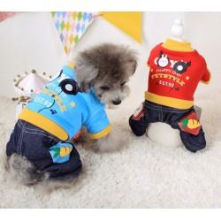 Теплый зимний костюм для собаки