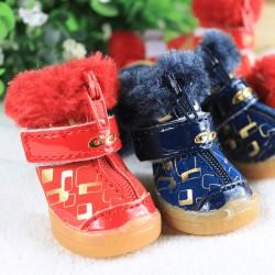 Зимние ботинки для собаки