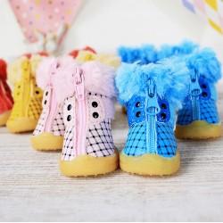 Зимові черевики для собаки